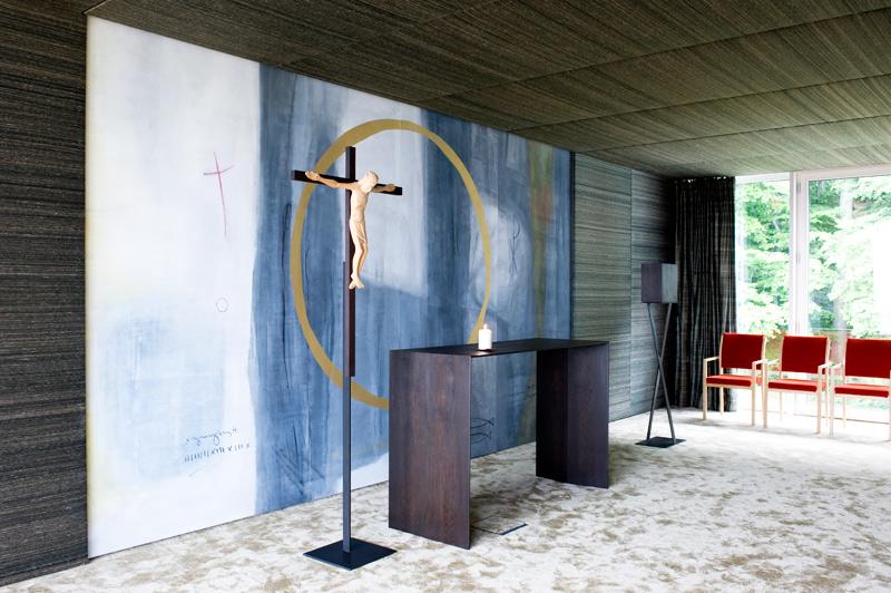 meditationsraum spes. Black Bedroom Furniture Sets. Home Design Ideas